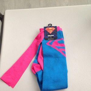Knee High Supergirl Socks
